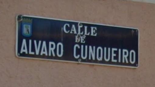 Calle_Alvaro_Cunqueiro_Madrid